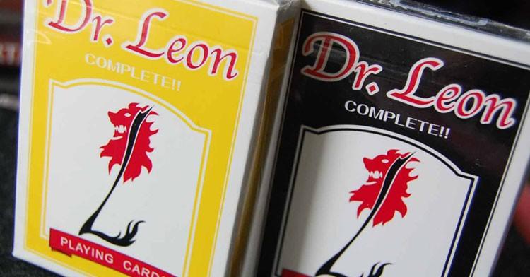 Dr Leon Playing Cards by Hiro Sakai (Yellow)