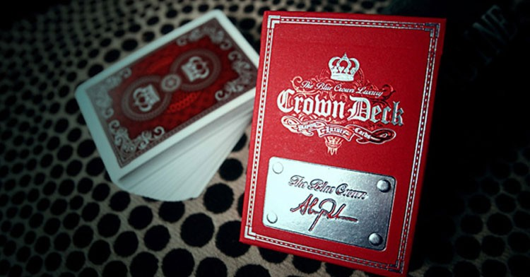 The Crown Deck: Red Luxury Edition