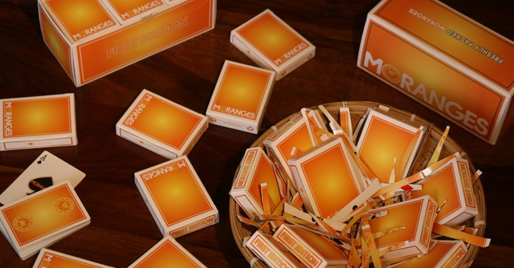 Moranges Playing Cards