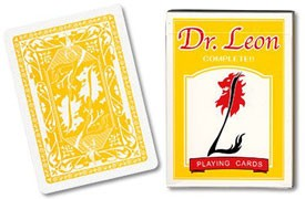 Dr Leon Playing Cards by Hiro Sakai (Yellow)