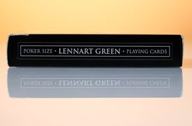 Lennart Green Playing Cards - Limited Edition