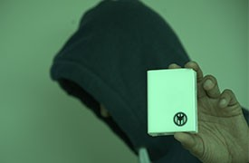 Impossible Is Nothing Card Clips - White Edition