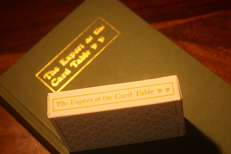 The Expert At The Card Table - Hard Cover Book