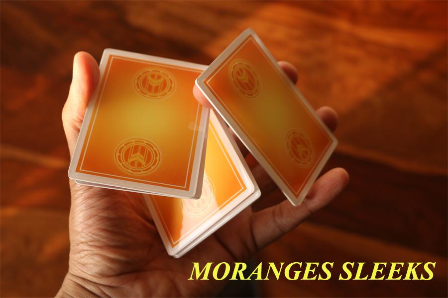 Moranges Sleeks - Sleekest Cardistry Trainers