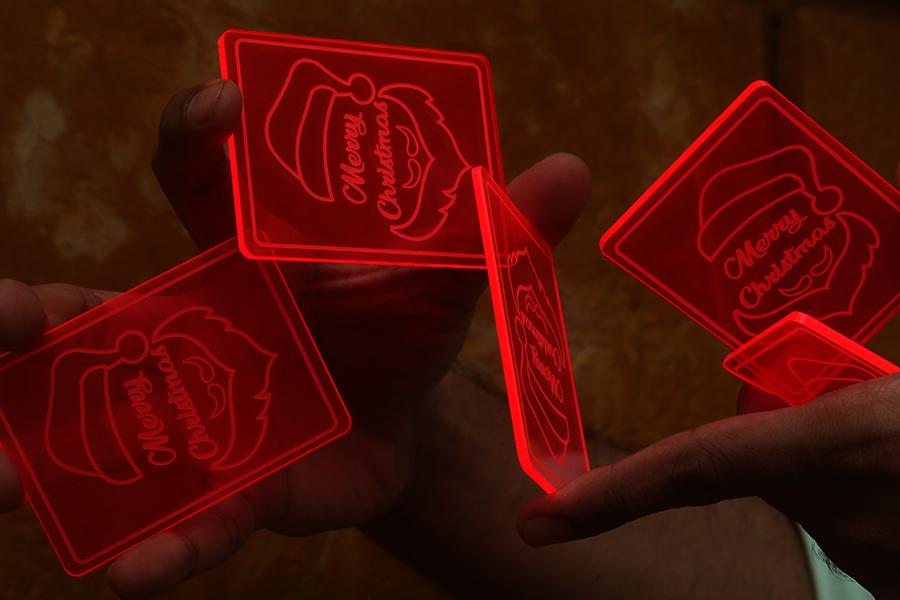 Santa Claus - Glow Cardistry Trainers