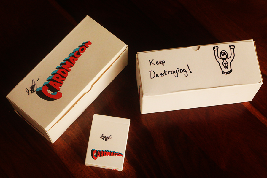 CARDMACON PLAYING CARDS - Collectors Box